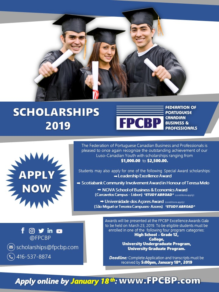 FPCBP Scholarships 2019 - News - The Consulate - Consulate